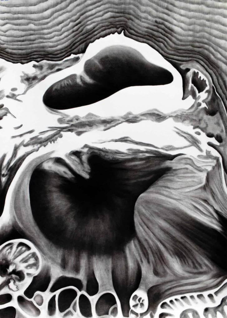 portfolio item Wilma Stegeman met de titel: Landscape III
