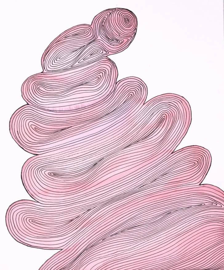 portfolio item Wilma Stegeman met de titel: Aquarel 2