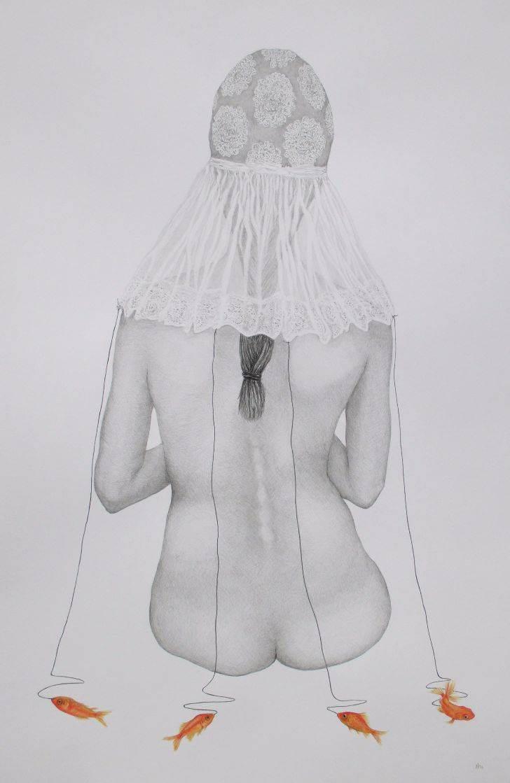 Wilma Stegeman Hanging by a thread