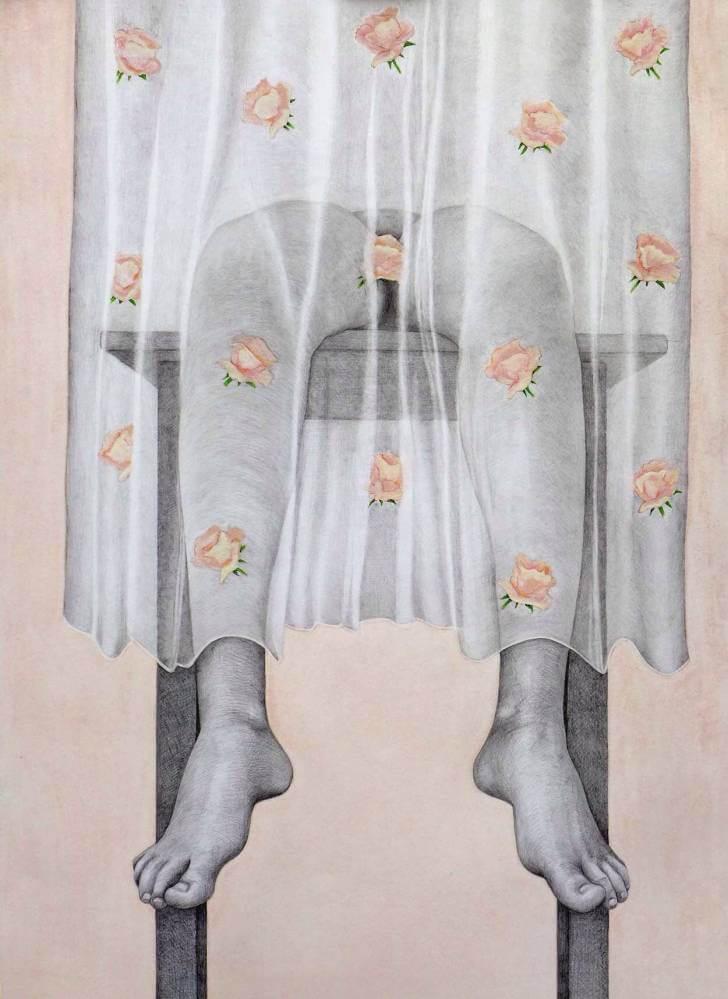 portfolio item Wilma Stegeman met de titel: Roosje