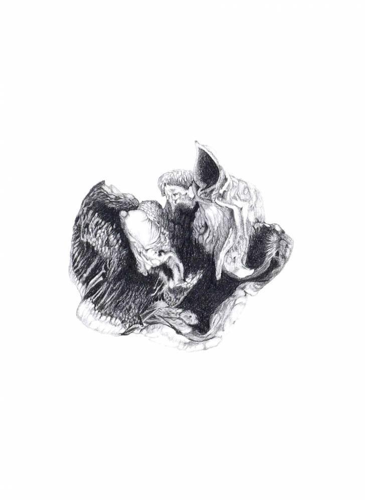 portfolio item Wilma Stegeman met de titel: Pencildrawing