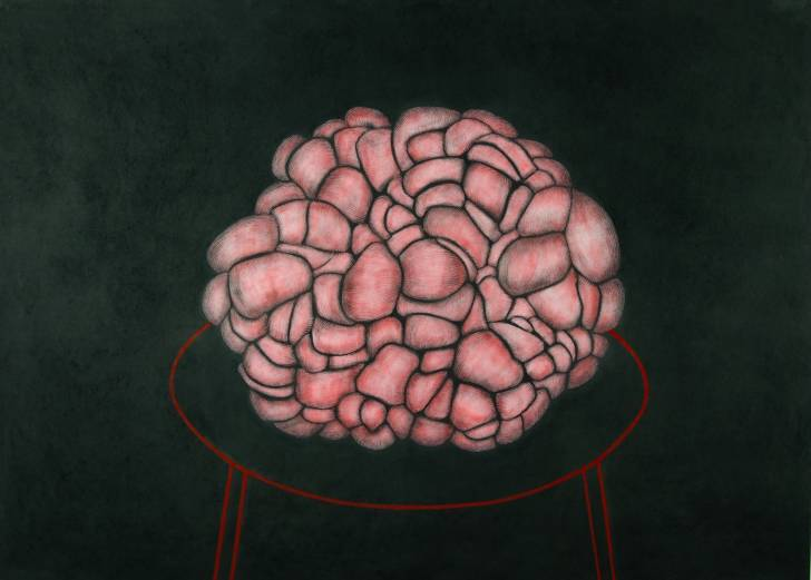 portfolio item Wilma Stegeman met de titel: Blob op tafel